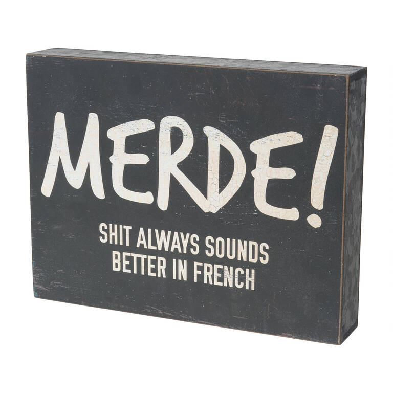 Merde Block