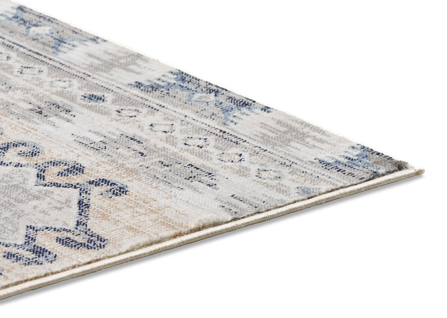 Levy Rug 91x126 Blue/Goldfield