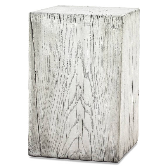Breaden Indoor Outdoor Stool Tall White