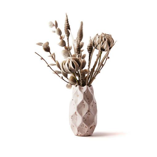 Valles Pinecone Cactus Grey/White