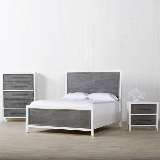 Marina Bay Bed -Skye Grey