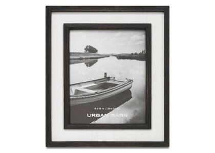 Ashworth Frame 8x10 Black/White
