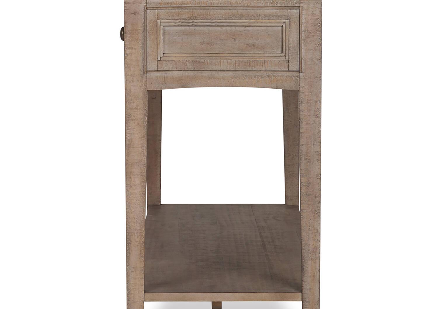 Table console Parker -Héron sable