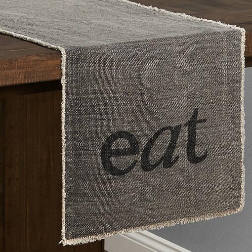 Eat Table Runner