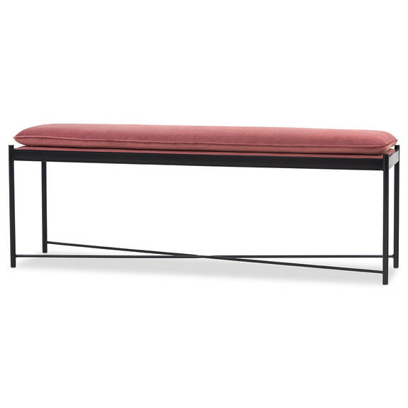 Maxwell Bench -Ruby Blush