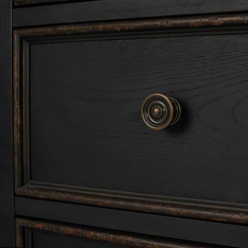 Aberdeen 9 Drawer Dresser -Baron Black