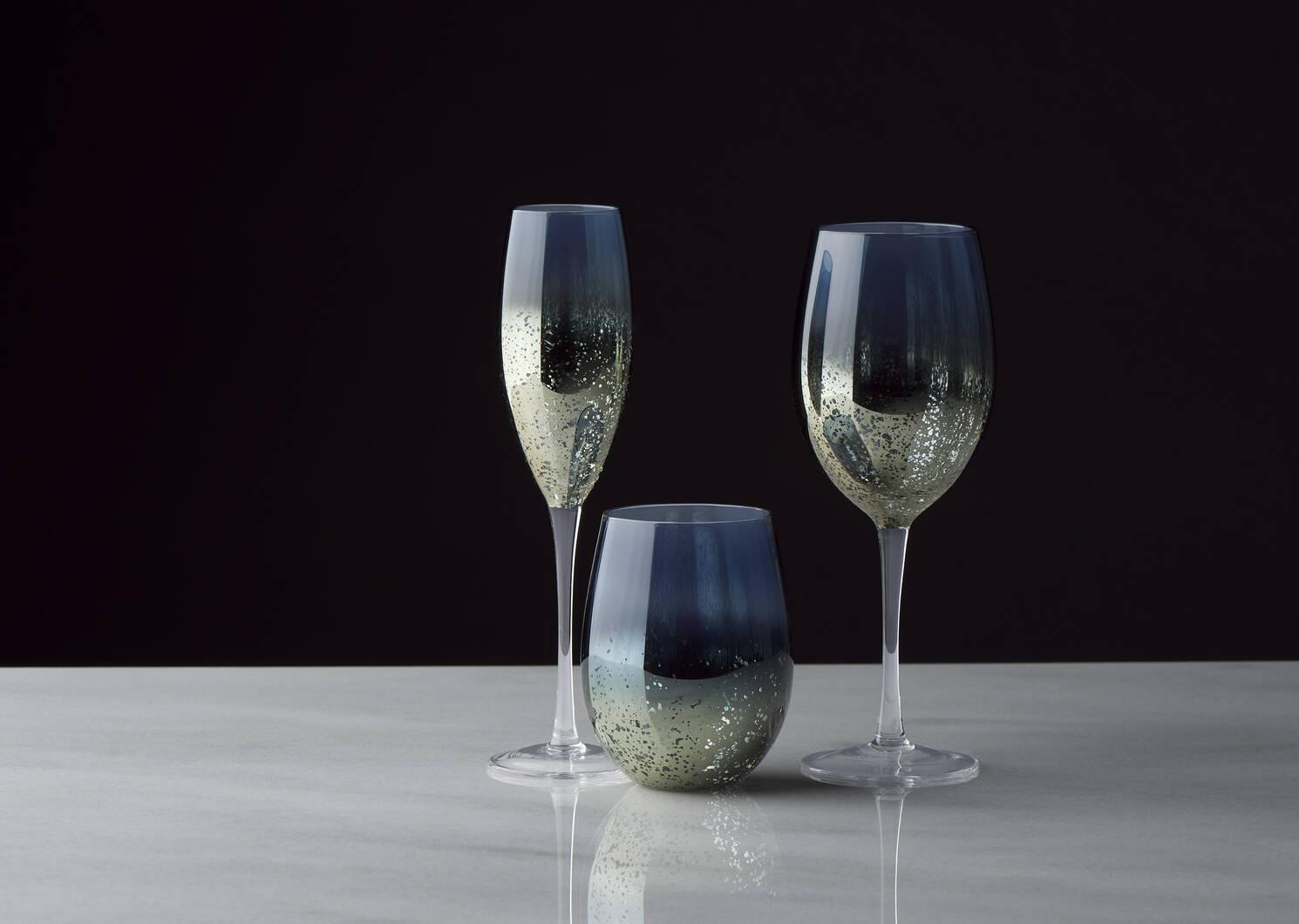 Rhapsody Wine Glass Blue/Haze