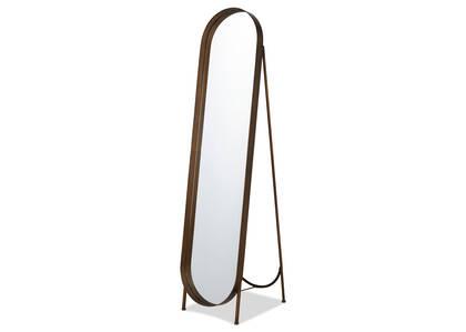 Miroir plein pied laiton Britton
