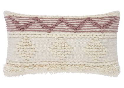 Andalusia Toss 12x22 Ivory/Blush
