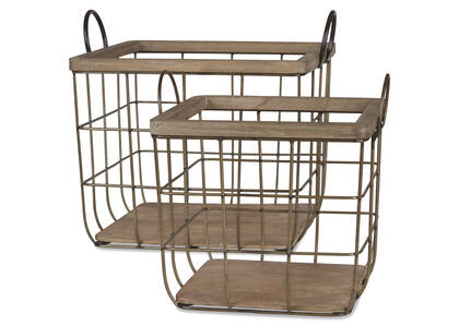 Haddon Wire Baskets