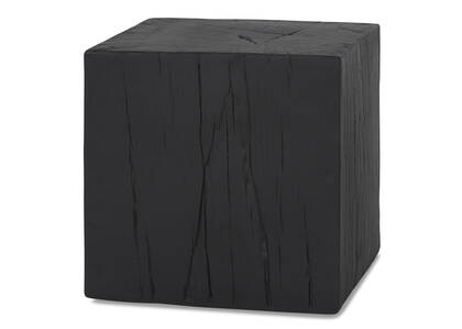 Breaden Indoor Outdoor Stool Short Black
