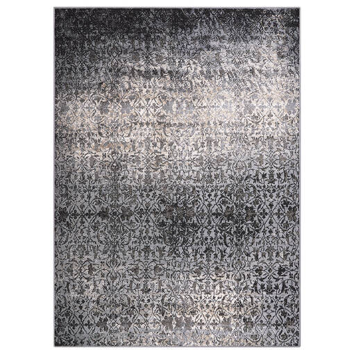 Rousseau Rug 79x118 Grey/Black