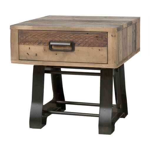 Distillery Side Table -Craft Pine