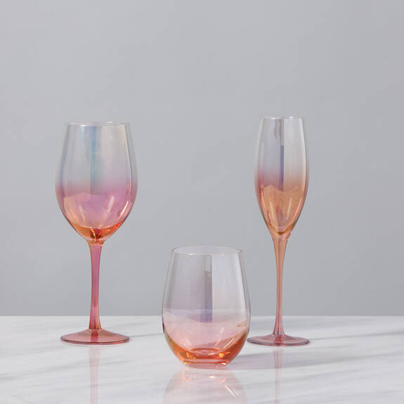 Chloe Glassware - Red
