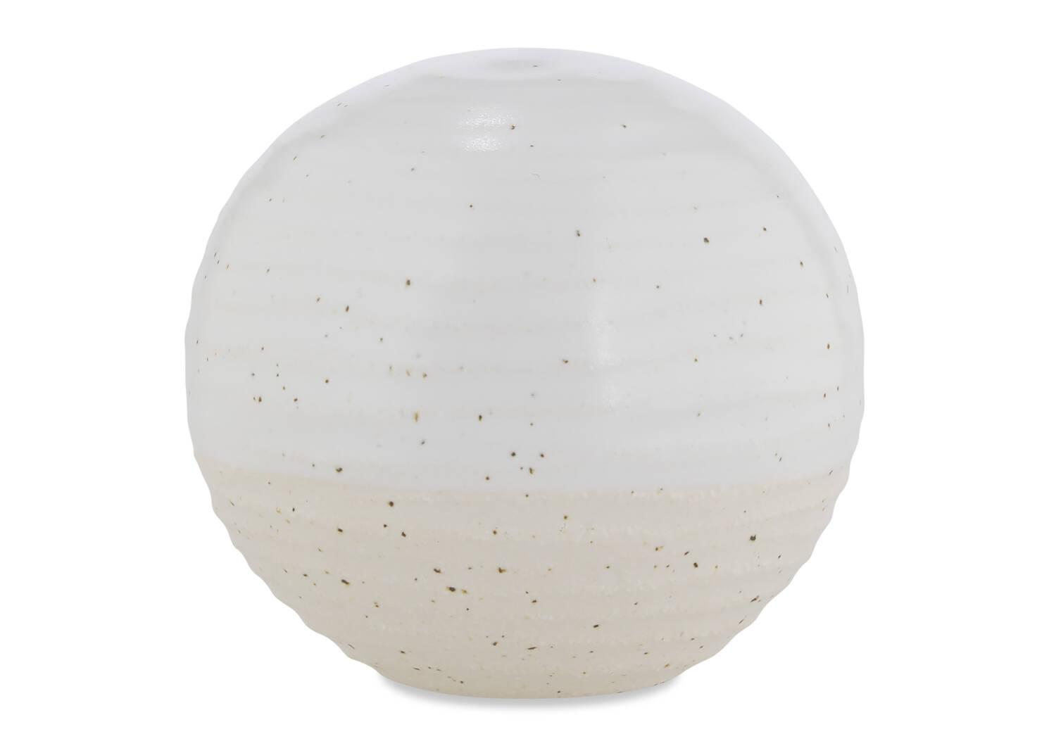 Jaylen Ball Décor White