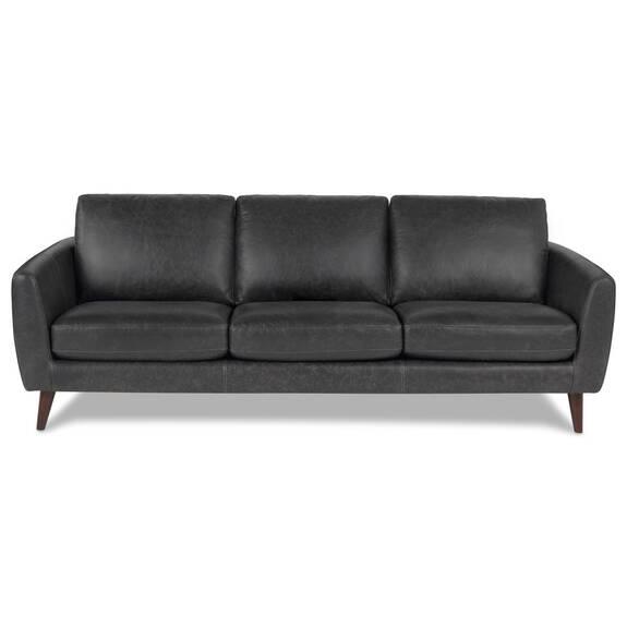 Henderson Leather Sofa -Tio Licorice