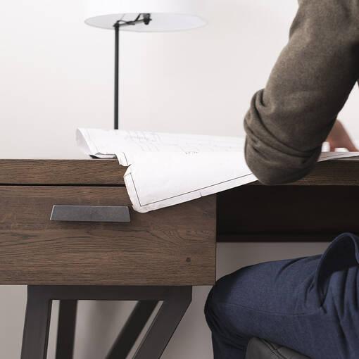 Vance Desk -Grey Umber
