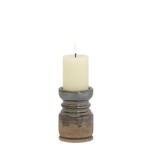 Margo Candle Holders - Pewter