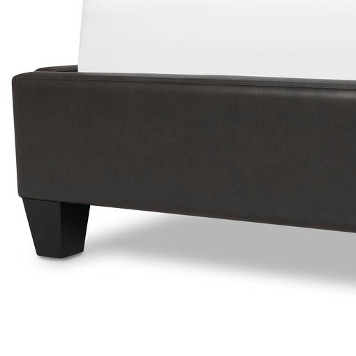 Spencer Bed -Claro Charcoal