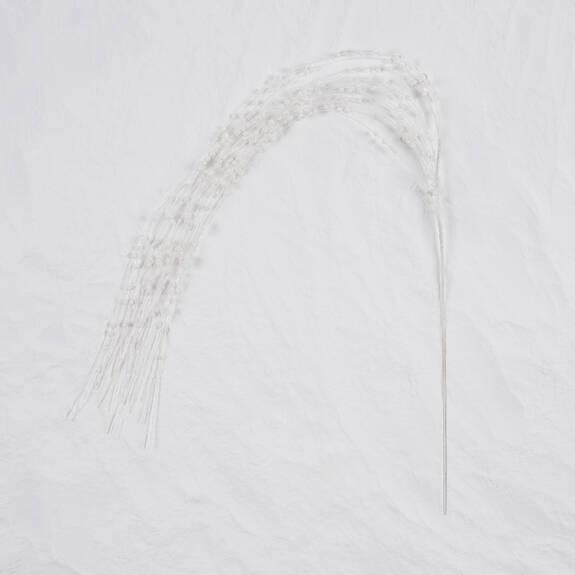 Branche scintillante Haile blanche