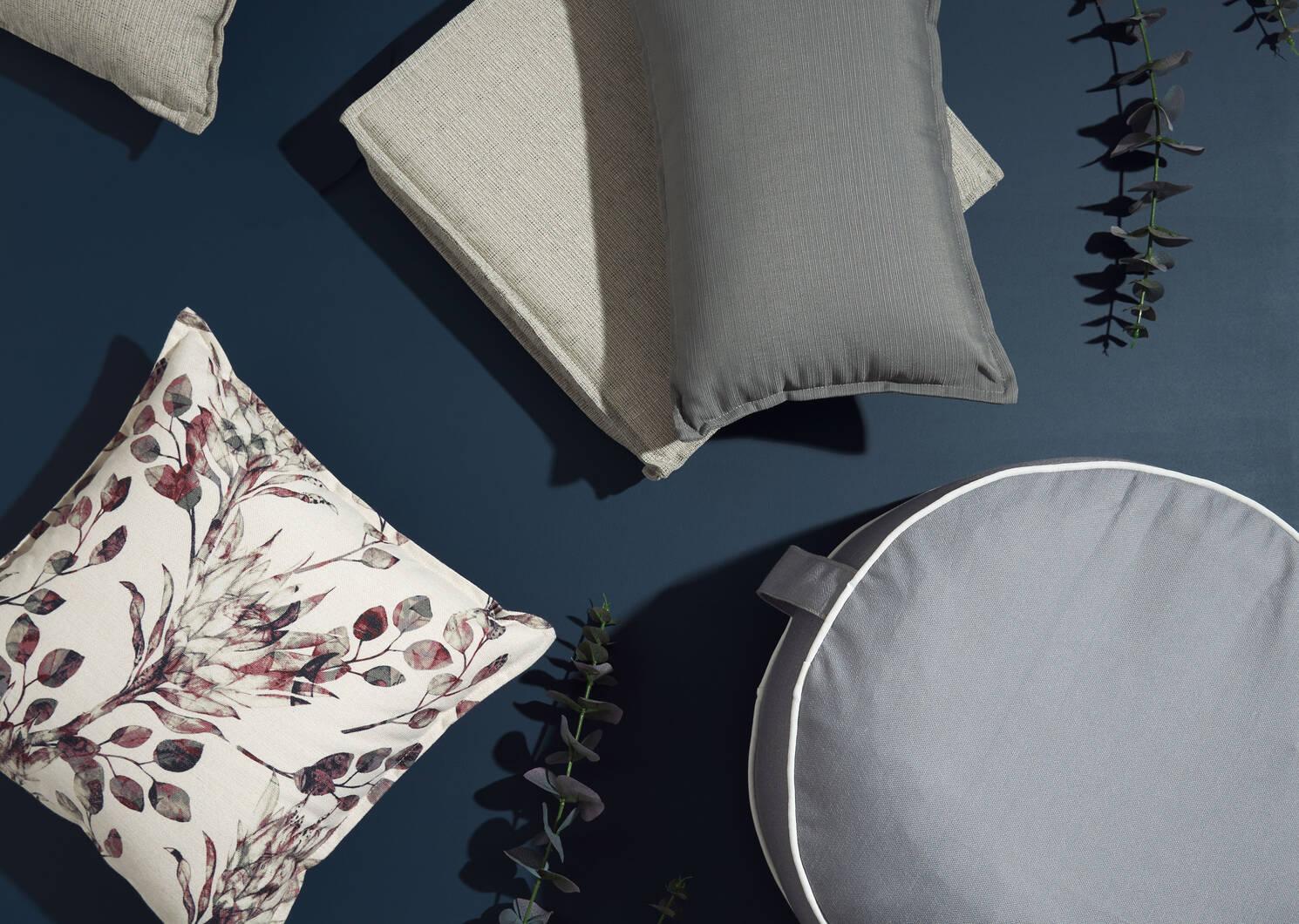 Malibu Seat Cushion Grey