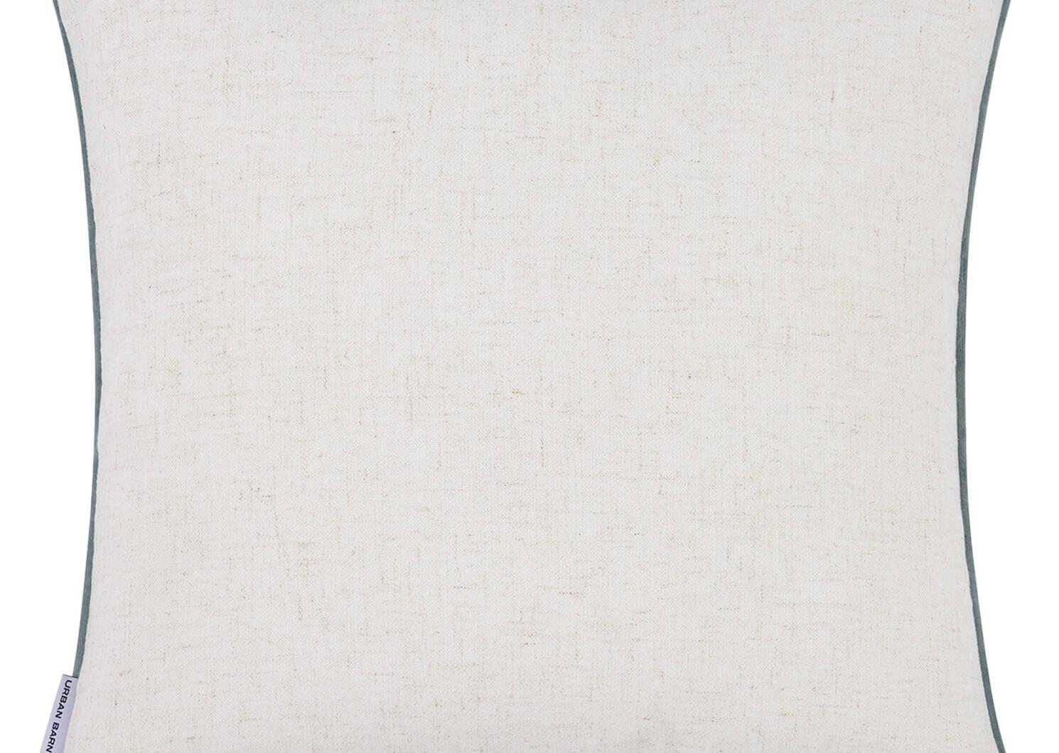 Draper Toss 20x20 Linen/Ash/Blue