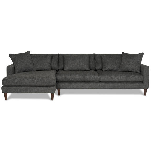 Nixon Sofa Chaise -Giovanna Pewter