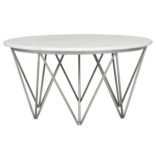 Milo Coffee Table -Venus White