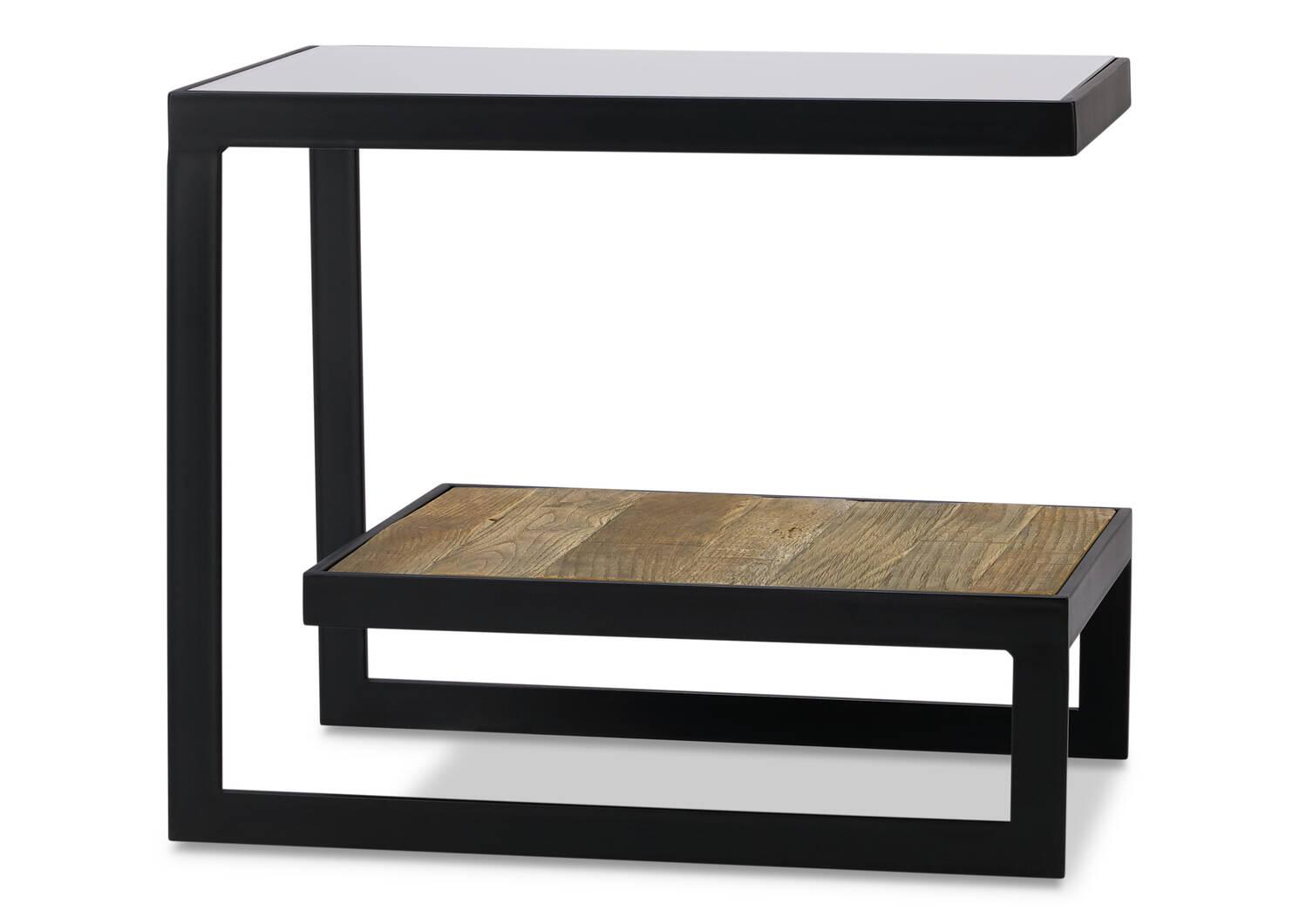 Mitchell Side Table -Aspen Oak