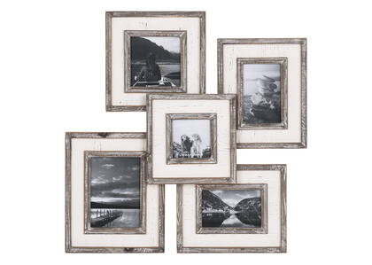 Ashworth Collage Frame Grey/White