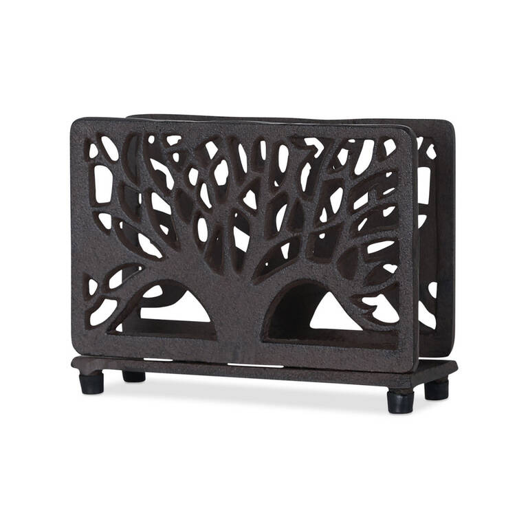 Grove Napkin Holder Iron