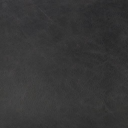 Savoy Leather Armchair -Jett Anthracite