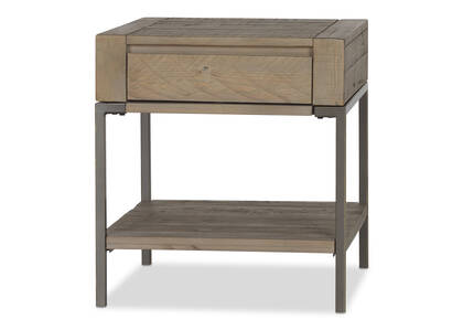 Bronson Side Table -Guthrie Driftwood