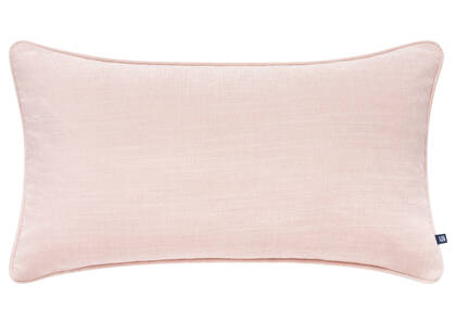 Coussin Bailey 12x22 sel rose