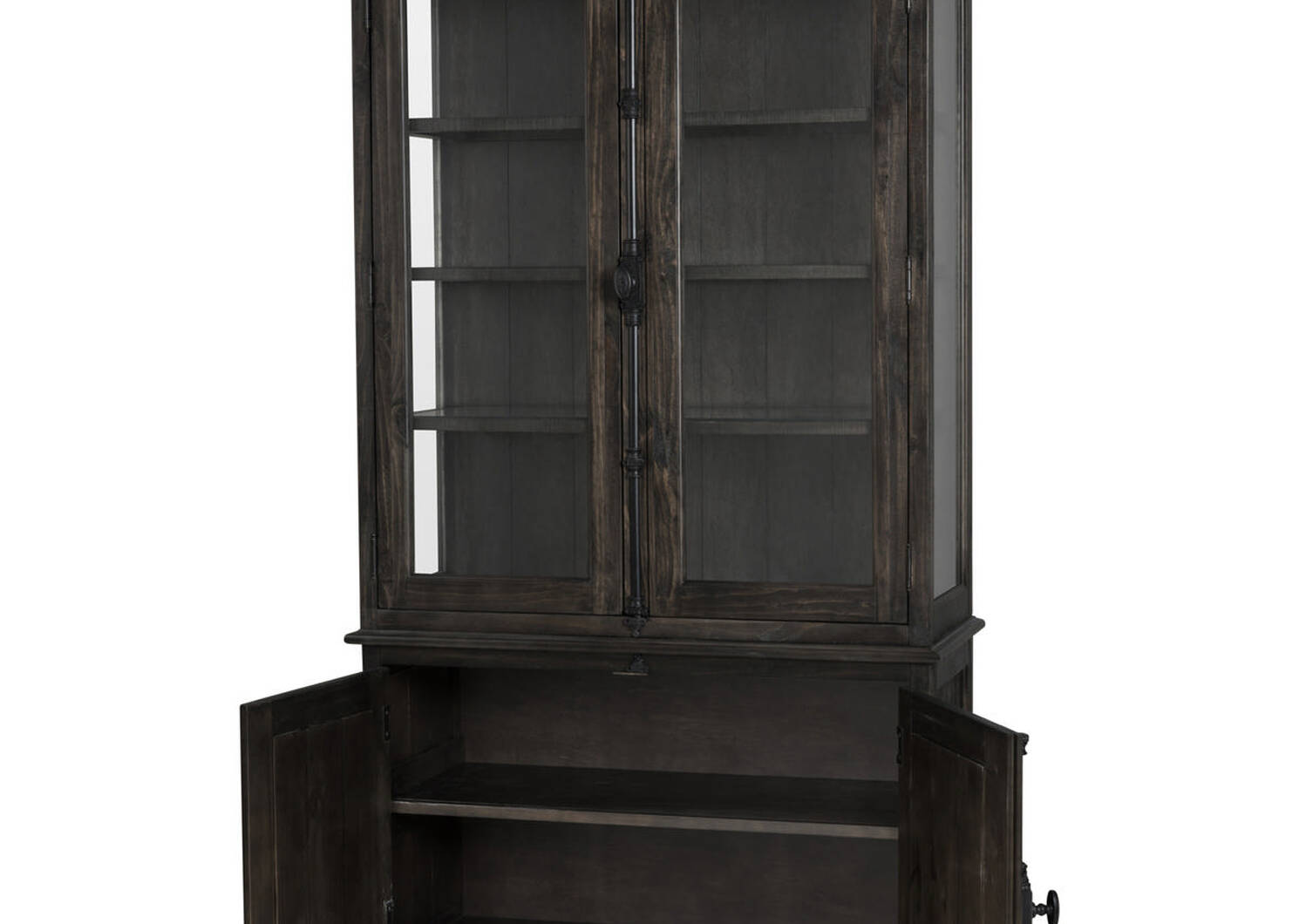 Churchill Display Cabinet -Carob