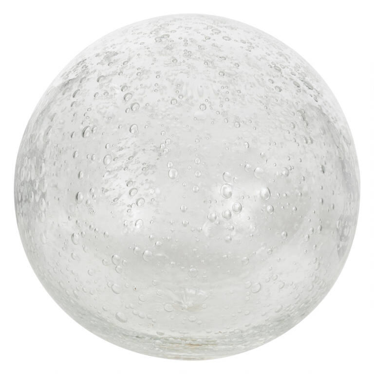 Anora Glass Ball Large Clear