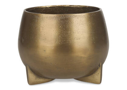 Novah Planter Large Gold