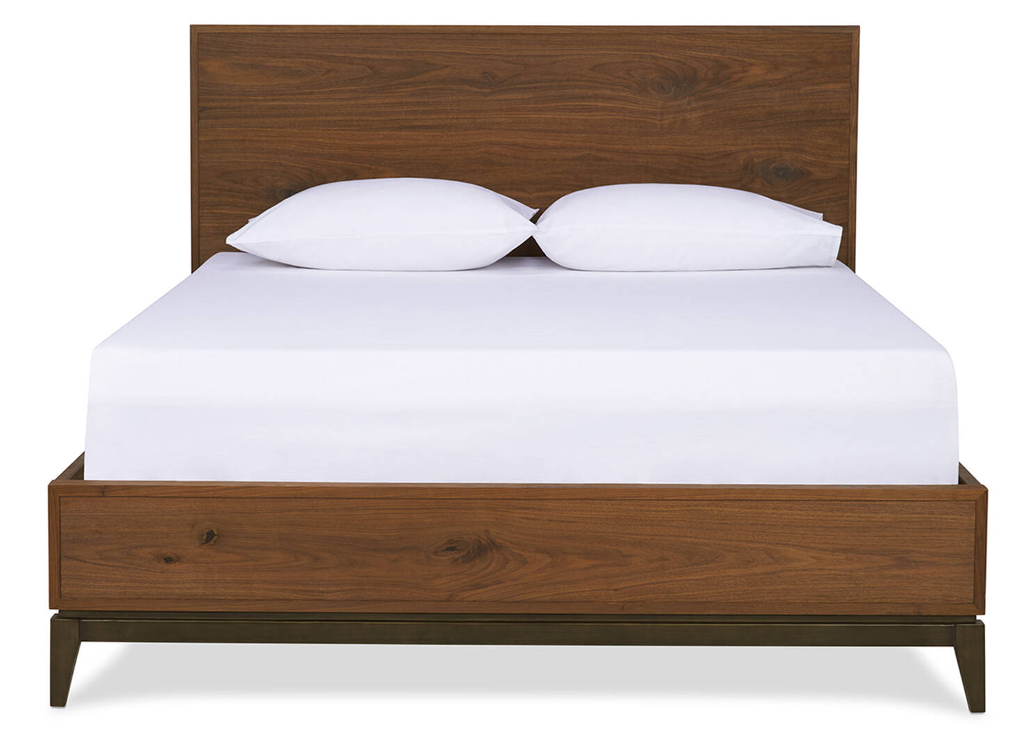 Houston Bed -Harris Walnut, KING