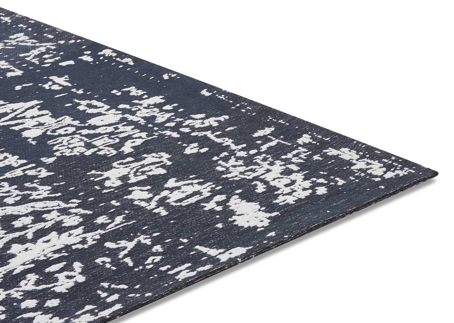 Fontana Rug - Dark Blue/Ivory