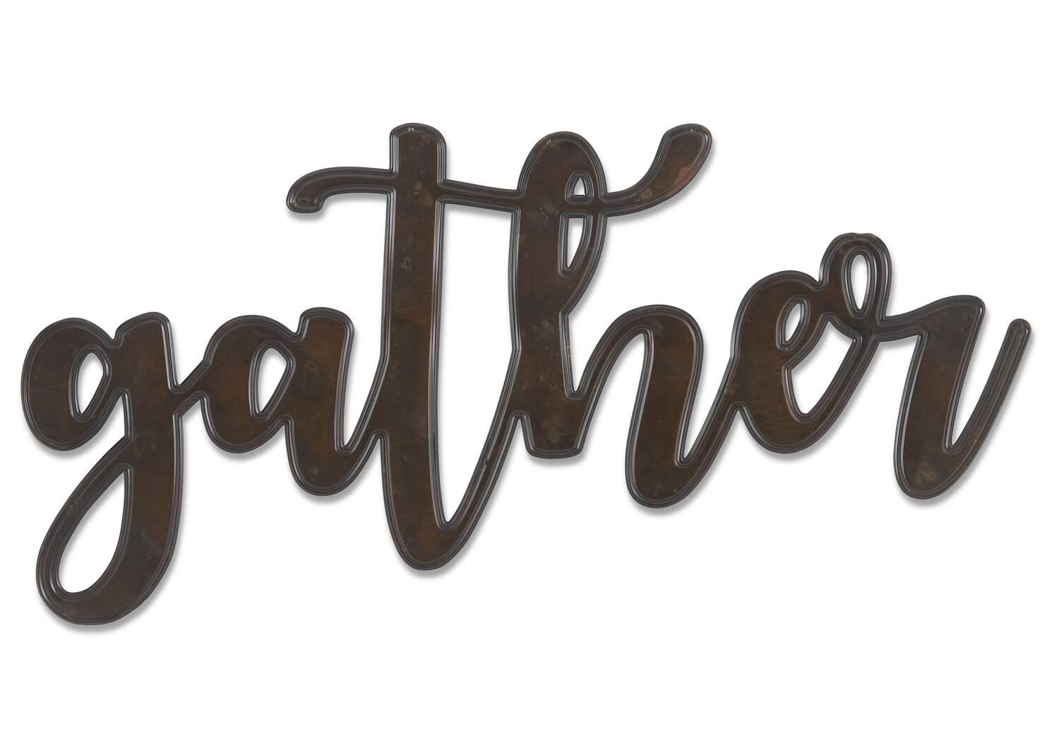 Enseigne Gather