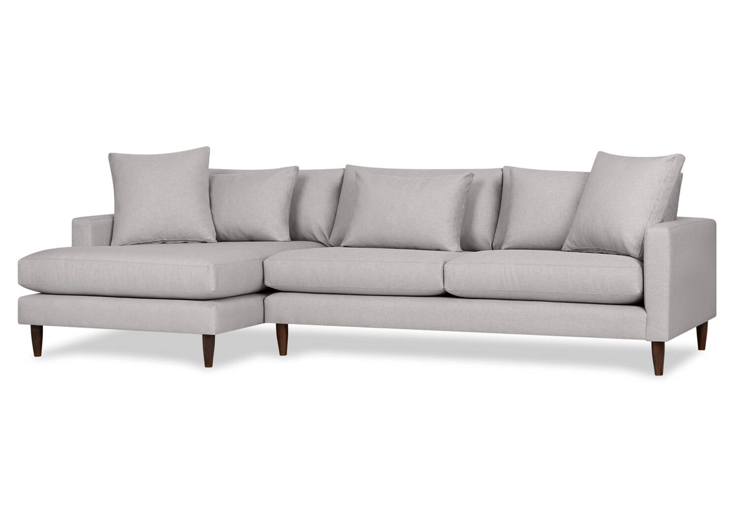 Nixon Custom Apartment Sofa Chaise