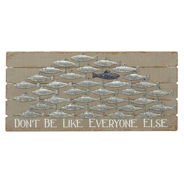 Be Unique Wall Plaque