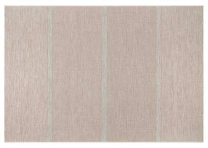 Tapis rayé Bondi 79x114 naturel/ivoire