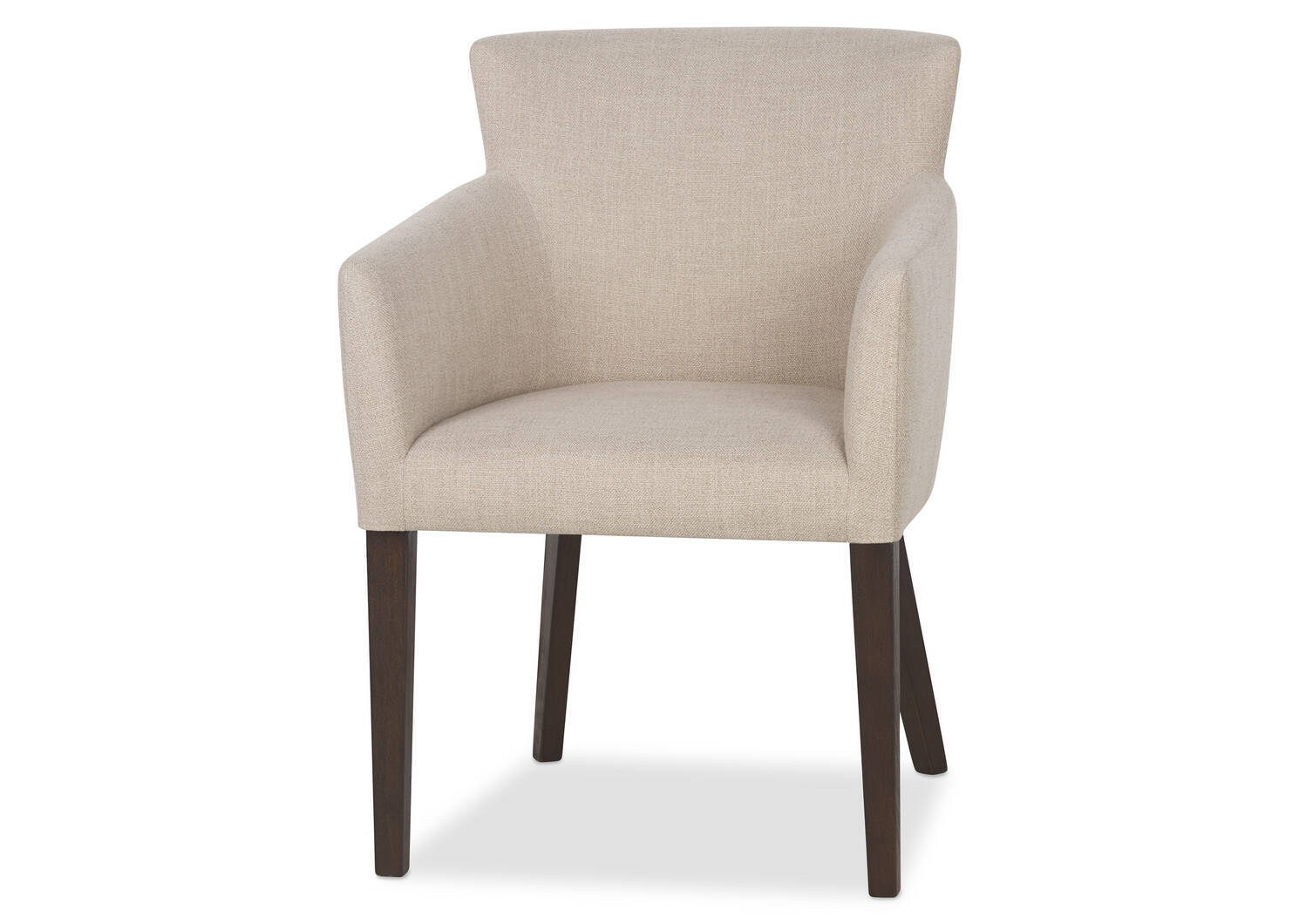 Jenaya Arm Dining Chair -Daylin Flax