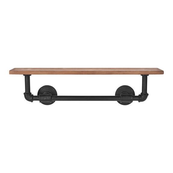 Jeb Wall Shelf Iron/Wood