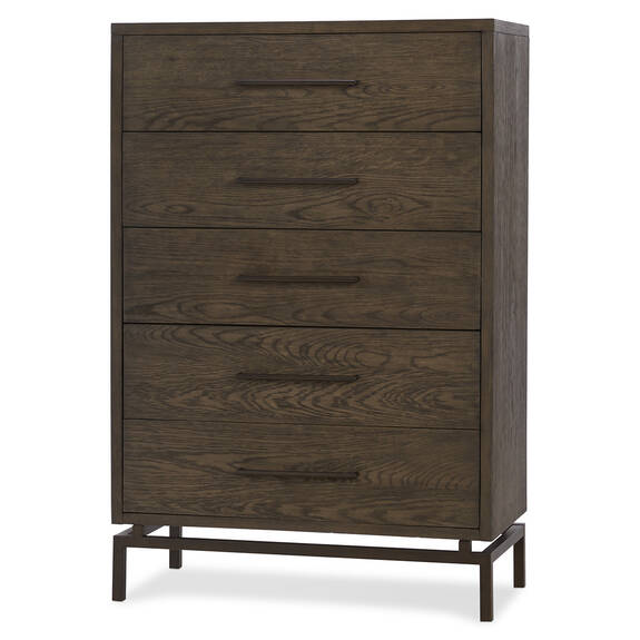 Aiden 5 Drawer Chest -Delano Sable