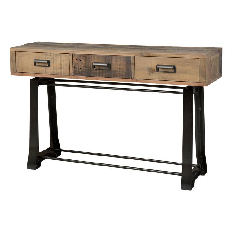 Table console Distillery -pin d'artisan
