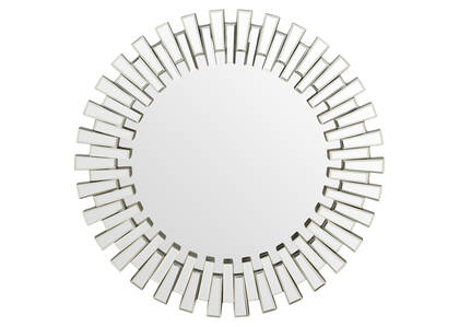 Nurez Wall Mirror Round