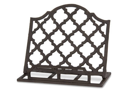 Treillage Cookbook Stand Iron