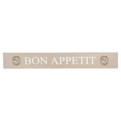 Bon Appétit Table Runner